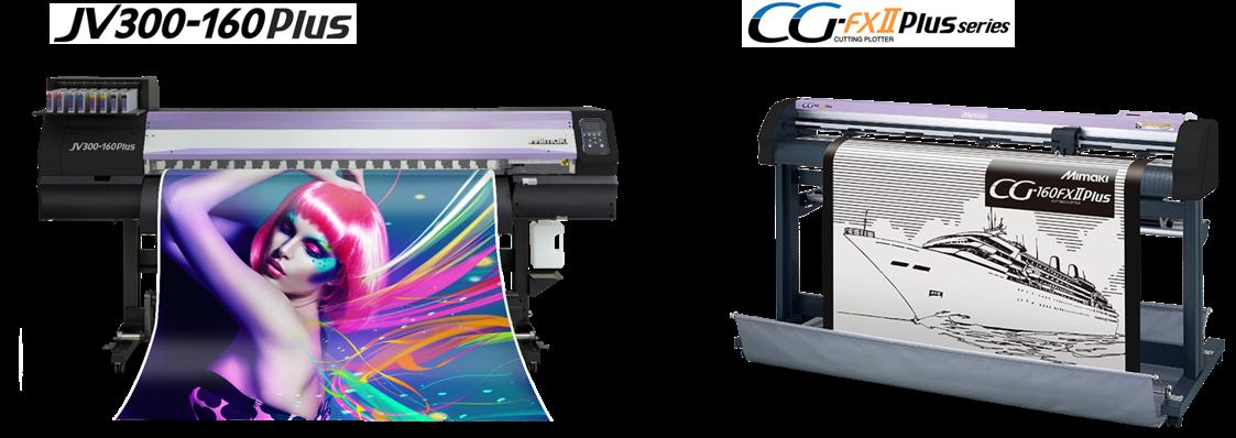 Utilizzo in combo con la stampante JV300-160 Plus