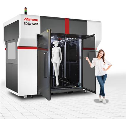 Stampa 3D di grande formato fino a 1,8m