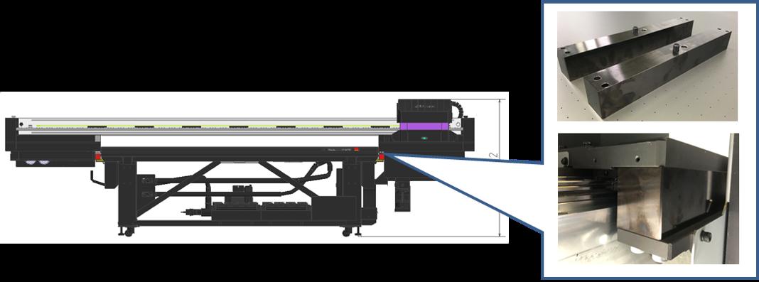 Nuovo Optional per la stampa su oggetti con spessori più elevati