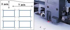 Lettore ottico per rilevamento rapido dei crocini di registro