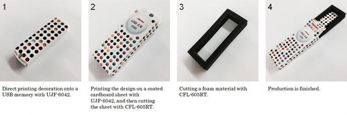 Utilizzo in combo con la Serie UJF MkII per la produzione di packaging on demand