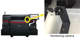Videocamera per il controllo dell'avanzamento della modellazione